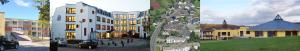 Collage Bauobjekte Immobilien Architektur Kruse