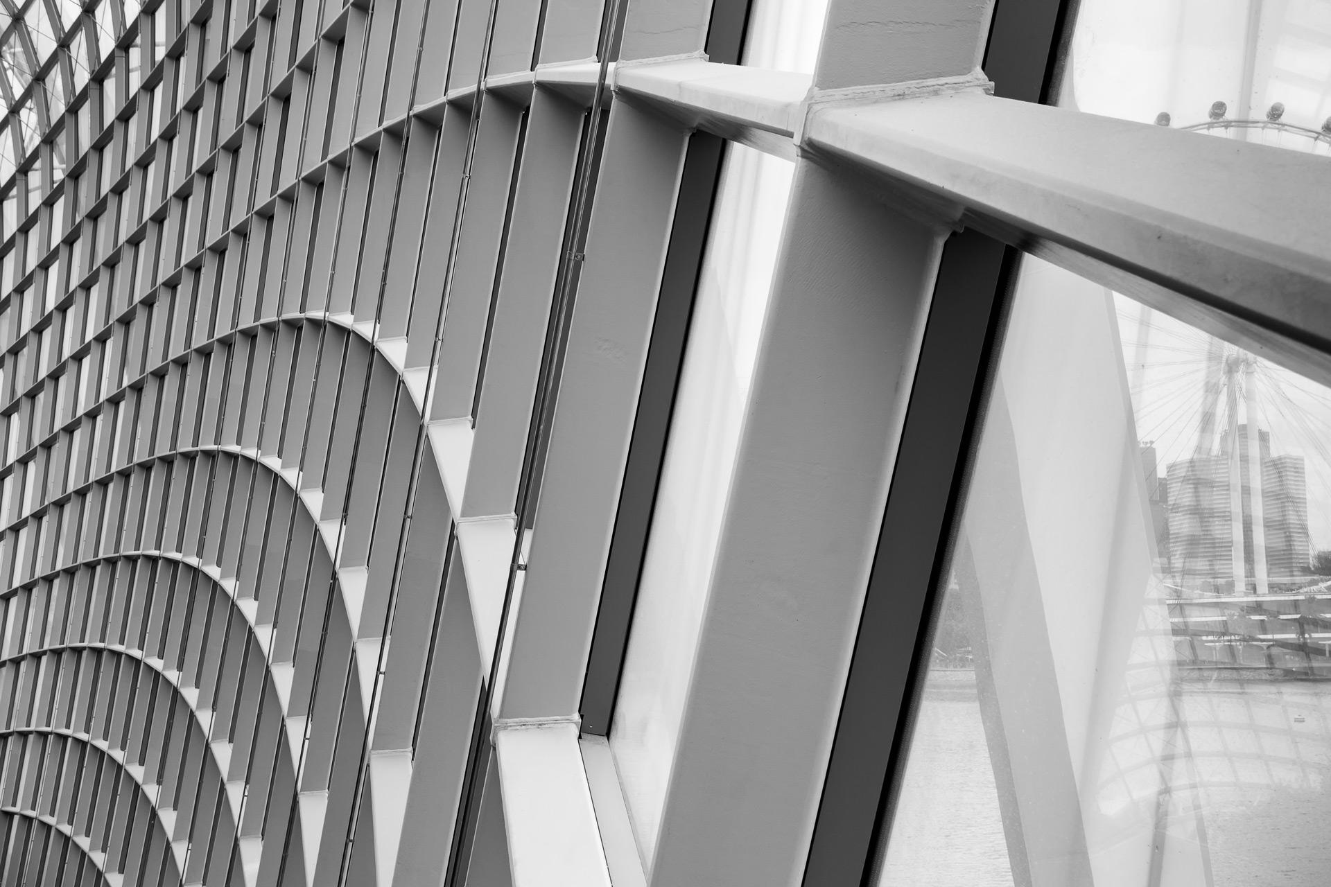 Wand Fassade Glas Architektur Kruse